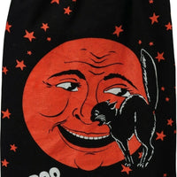 Primitives by Kathy Halloween Boo Cat Moon Orange Retro Kitchen Dish Towel - Piglet's Closet