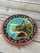 "Vintage Retired Gibson Jurassic Park Party Supplies 10 Deep Dish Plates 7"" - Piglet's Closet"