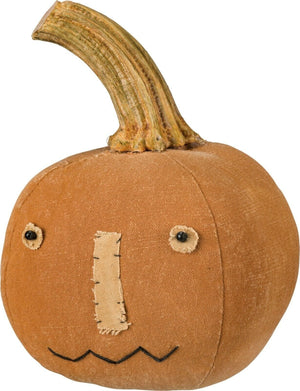 Primitives By Kathy Primitive Orange Halloween Pumpkin Jack O' Lantern Decor - Piglet's Closet