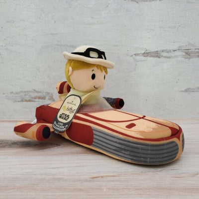 Hallmark Itty Bittys Star Wars Luke Skywalker in Landspeeder KDD1725 Plush Toy - Piglet's Closet