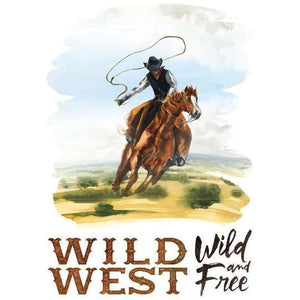 "Re-design Prima Wild Wild West Furniture Decor Transfer 23"" x 34"""