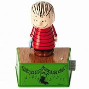 Hallmark 2017 Peanuts Linus Christmas Dance Party Figure Music Motion - Piglet's Closet