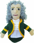 Magnetic Personality Finger Puppet Magnet - Voltaire - Piglet's Closet