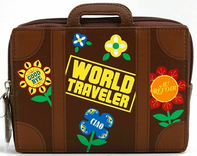 Disney Parks It's A Small World Traveler Suitcase Zippered Pouch Bag - Piglet's Closet