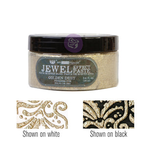 Golden Dust Jewel Textured Paste - Art Extravagance Prima - Piglet's Closet