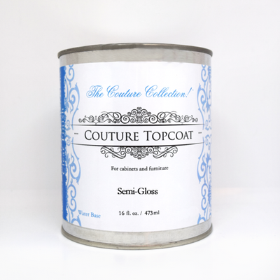 Semi-Gloss Clear Top Coat -  Paint Couture Acrylic Paint - Piglet's Closet