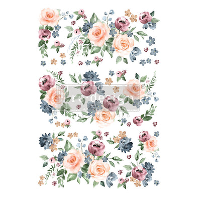 Watercolor Bloom - Redesign with Prima Furniture Decor Transfer 24