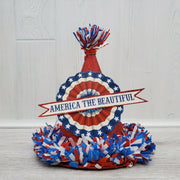 Bethany Lowe Designs Retro Americana Partriotic Red Party Hat Decor - Piglet's Closet