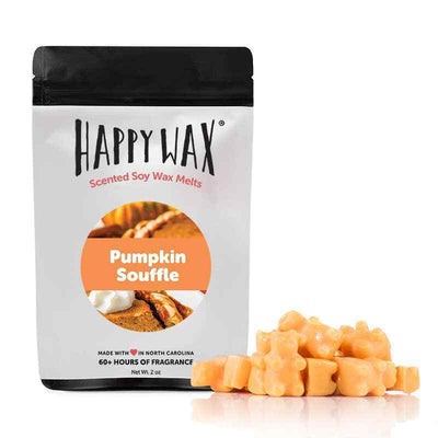 Happy Wax Pumpkin Souffle 2 oz Teddy Bear Scented Wax Melts - Piglet's Closet