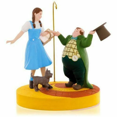 2015 Hallmark Ding-Dong the Witch is Dead Wizard of OZ Magic Christmas Ornament - Piglet's Closet