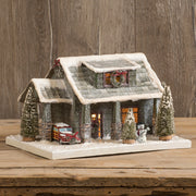 Ragon House Christmas Bungalow Lighted Village House - Piglet's Closet