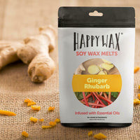 Happy Wax Ginger Rhubarb 2 oz Teddy Bear Scented Wax Melts - Piglet's Closet