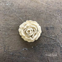 Woodubend Craft Rose Flower #321 Moulding Furniture Applique - Piglet's Closet