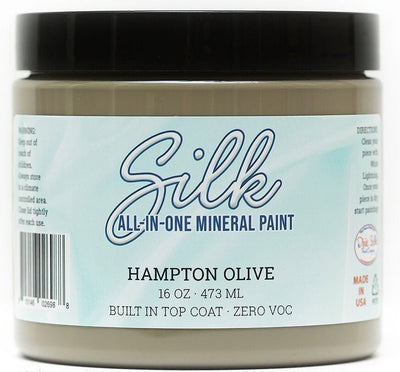 Silk All-in-One Mineral Paint by Dixie Belle - Hampton Olive - Piglet's Closet