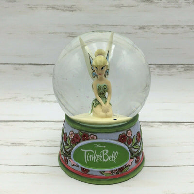 Disney Showcase Jim Shore A Pixie Delight Tinker Bell Fairy Figure Waterglobe - Piglet's Closet