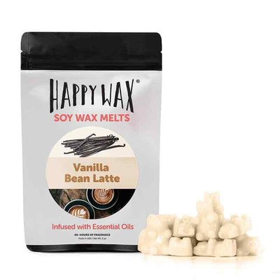 Happy Wax Vanilla Bean Latte 2 oz Teddy Bear Scented Wax Melts - Piglet's Closet