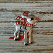Hallmark Rudolph The Red Nosed Reindeer DAD Metal Ornament - Piglet's Closet