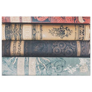 Colorful Book Spine Decoupage Tissue Paper - Roycycled - Piglet's Closet