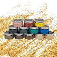 Posh Chalk Metallic Paste Paint - Deep Gold 110ml - Piglet's Closet