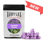 Happy Wax 2 oz Teddy Bear Scented Wax Melts - Lavender Cactus - Piglet's Closet