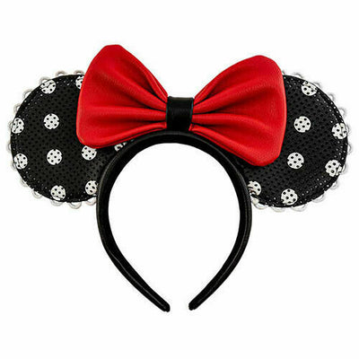 Loungefly Disney Minnie Mouse Polka Dot Pin Trader Ears - Piglet's Closet