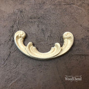 Woodubend Pediment #1654 Moulding Furniture Applique - Piglet's Closet