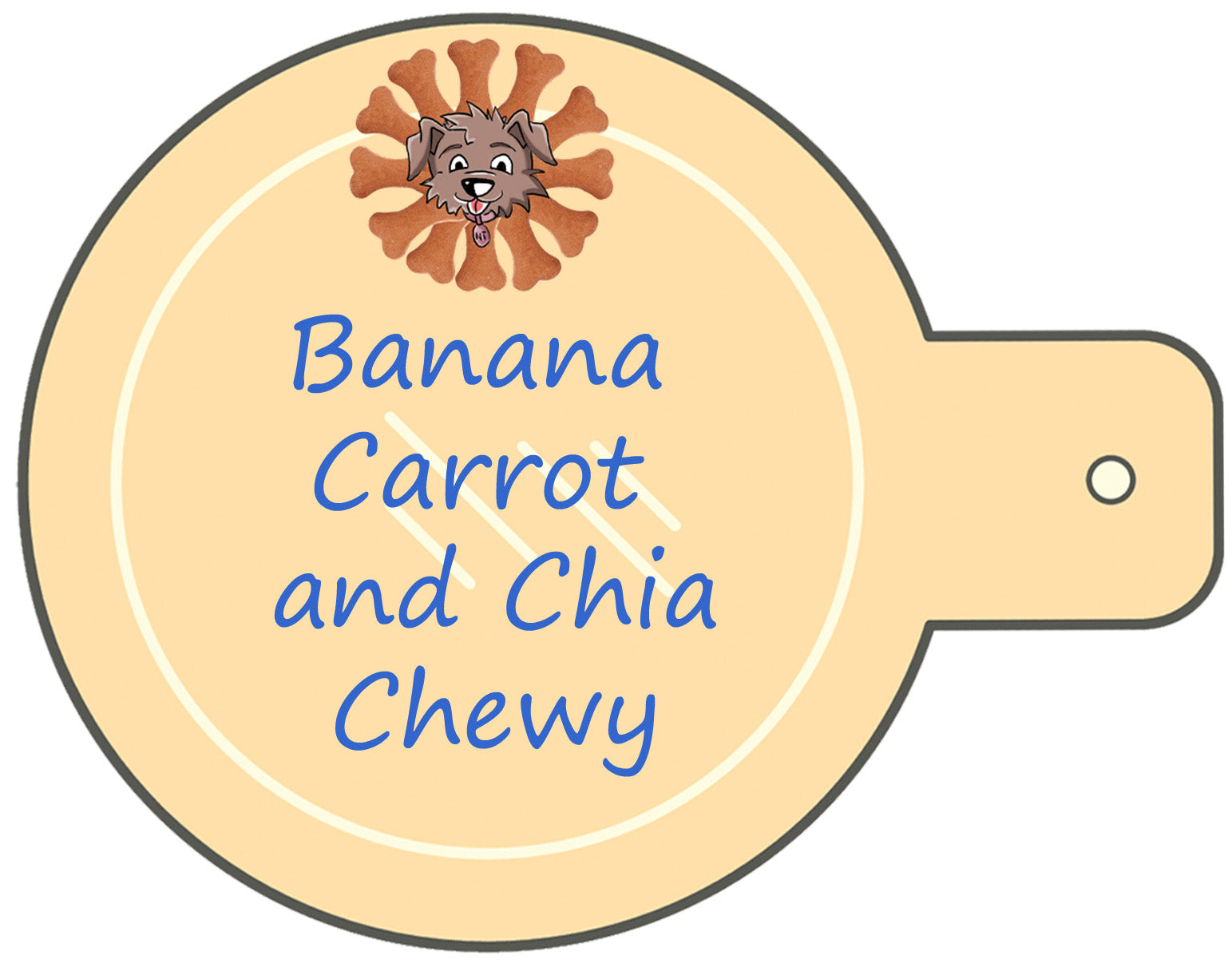 Banana Carrot and Chia Chewy