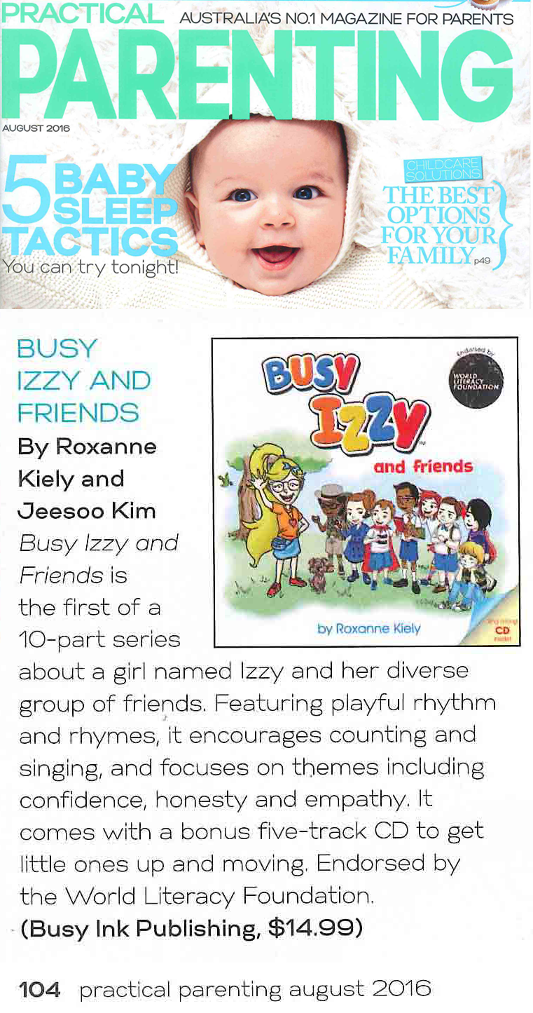 Busy Izzy review - Practical Parenting
