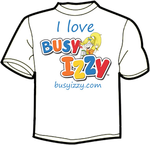 I Love Busy Izzy T-Shirt