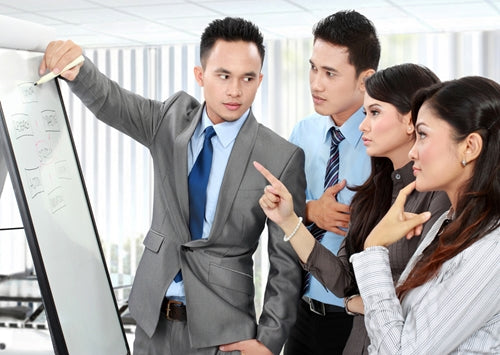 Using whiteboards to increase collaboration in your office
