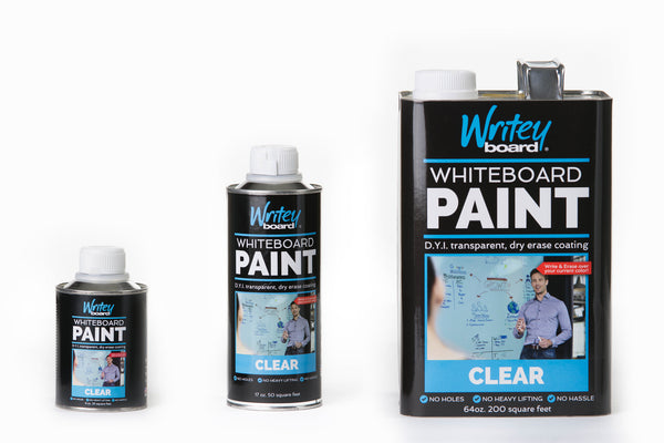 Dry Erase Spray Paint Clear