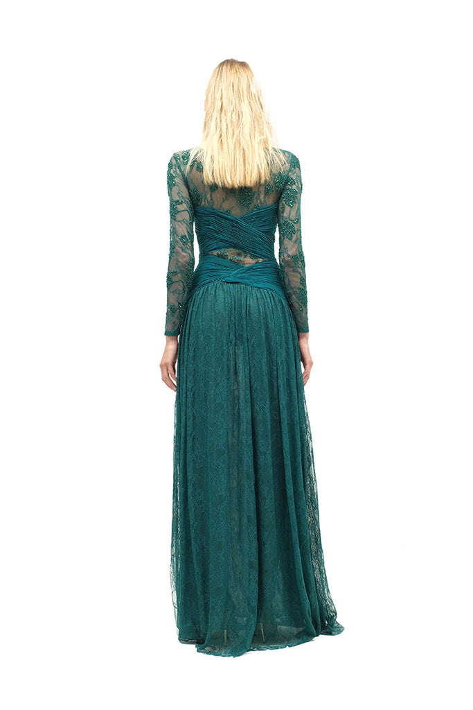 Veronica Lace Embellished Gown