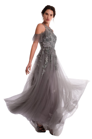 Evelyn Lace Two-set Gown