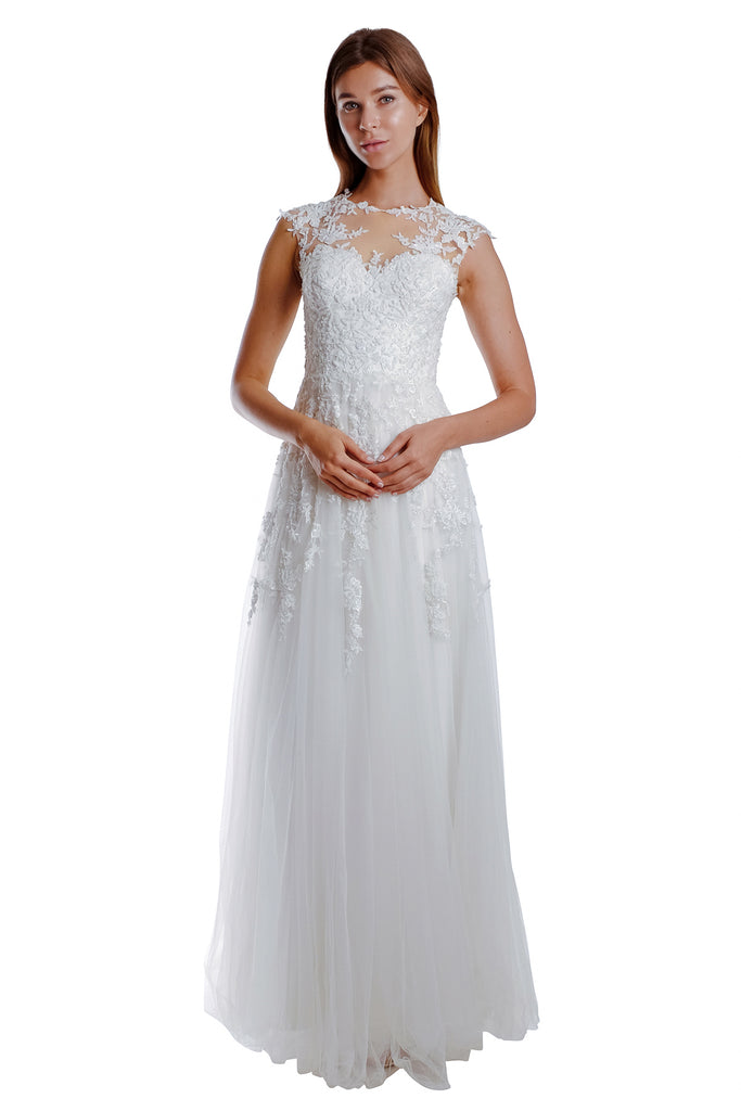 Jeanette Lace Gown
