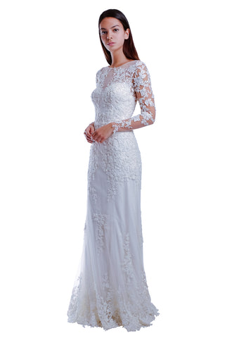 Madison Swarovski Embellished Gown