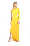 Kloss Scuba Jersey Beaded Gown