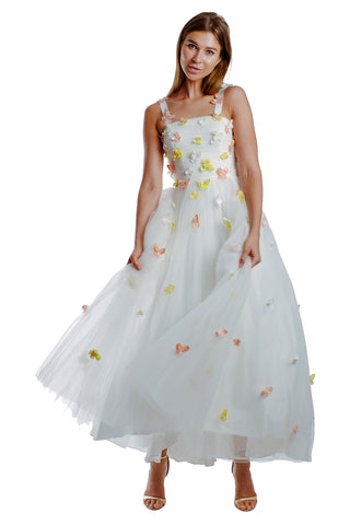 Madeline Balloon Sleeves Gown