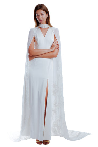 Camilla Cape Gown Set