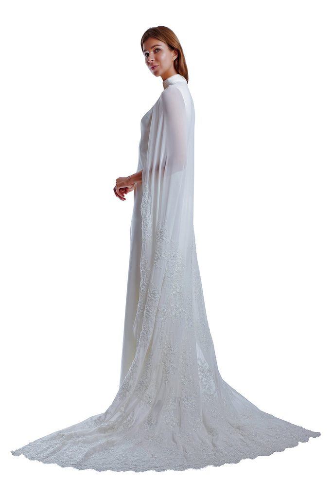 Wilma Cape Gown