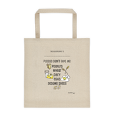 Custom Food Allergy Preparedness Tote Bag
