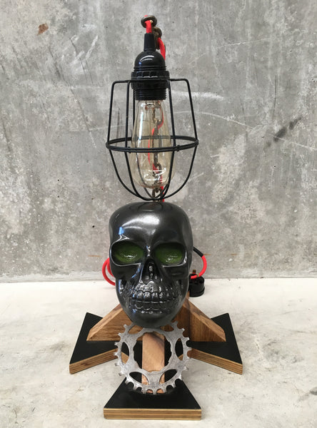 Skull Table Lamp