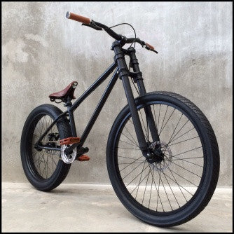 Hardtail - Custom Matte Black or Your Colour