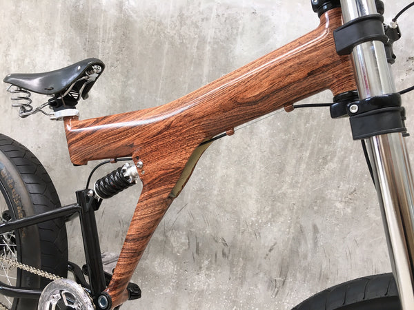 StrEEt CruisEr - Pre loved - CusTom Wood Wrapped