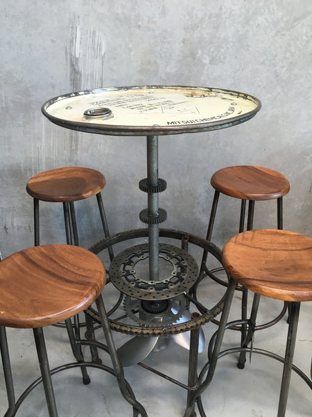 Japanese Bar Table & Stools