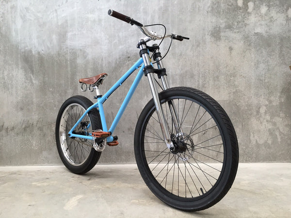 HardTail - Sky BluE & Brown