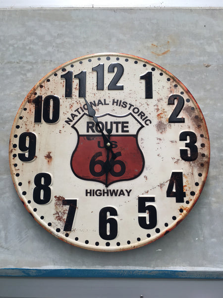 Retro RoutE 66 ClocK