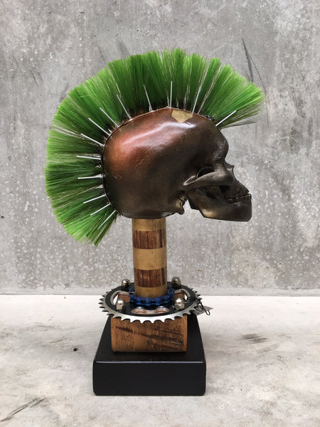 Mad JamEs Mohawk Skull