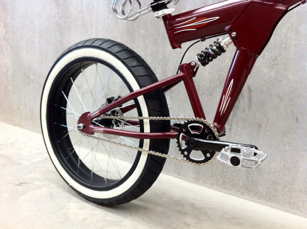 StrEEt CruisEr - Pre Loved - CusTom Clip-on Bars