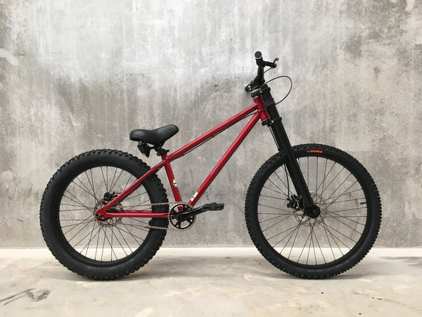 Hardtail - Burgundy/Black - Workshop Re-Build