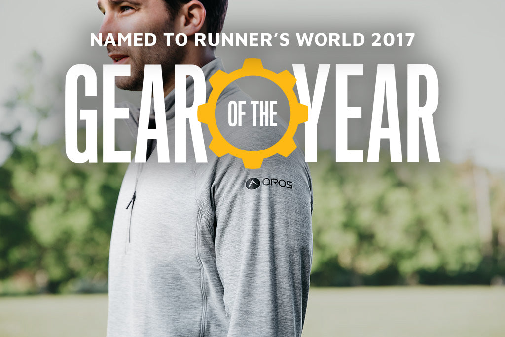 Named To Runner's World 2017 Gear Of The Year